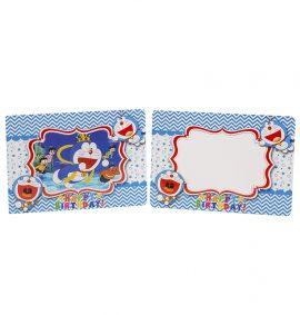 Khung hình sinh nhật 2D chủ đề Doremon