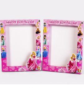 Khung hình trang tri sinh nhật chủ đề Công chúa Disney