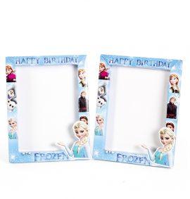 Khung hình sinh nhật 3D chủ đề Frozen