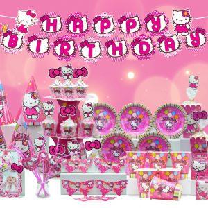 Set kitty trang trí sinh nhật kitty shopphukiensinhnhat.com