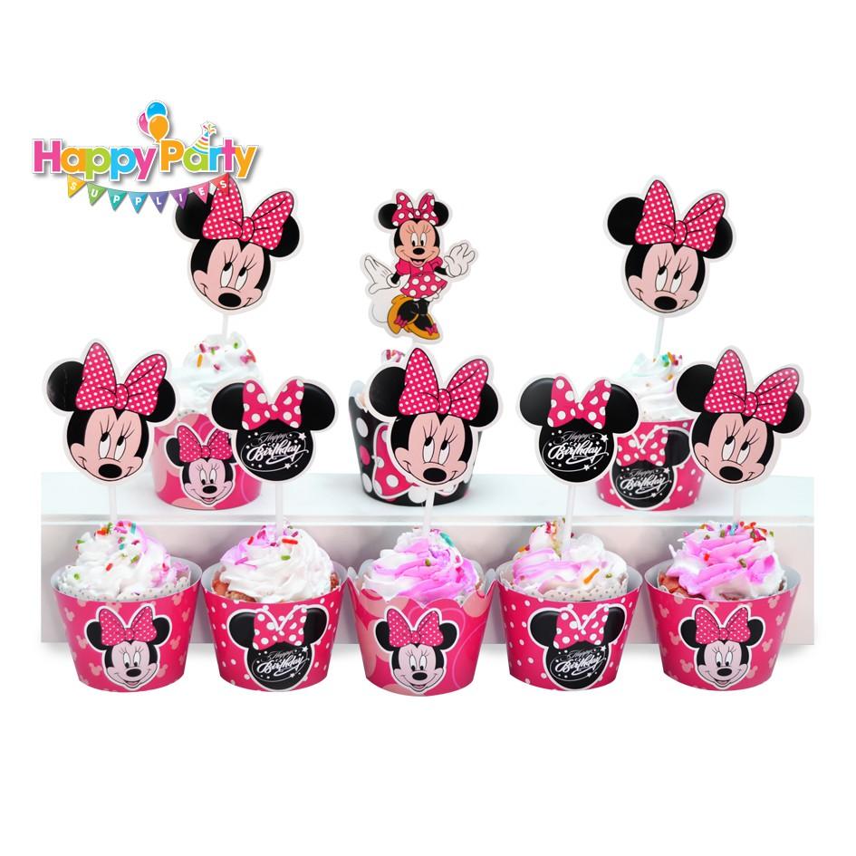 tem-cam-banh-cupcake-chu-de-minnie-hong shopphukiensinhnhat.com
