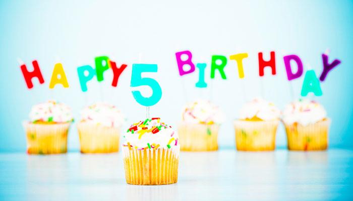 tổ chức tiệc sinh nhật 5 tuổi