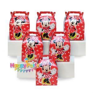 hộp quà cám ơn sinh nhật mickey đỏ shopphukiensinhnhat.com