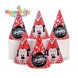 nón giấy sinh nhật mickey đỏ shopphukiensinhnhat.com