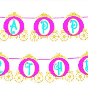 dây treo sinh nhật công chua disney shopphukiensinhnhat.com