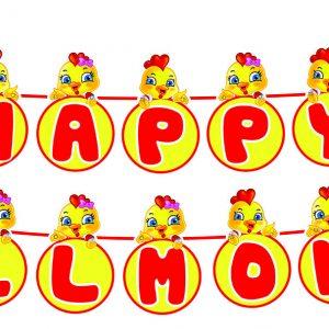 day-hpbd chủ đề gà vàng shopphukiensinhnhat.com