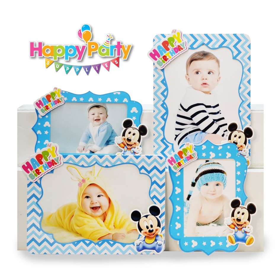 khung-hinh-chu-de- mickey-baby shopphukiensinhnhat.com