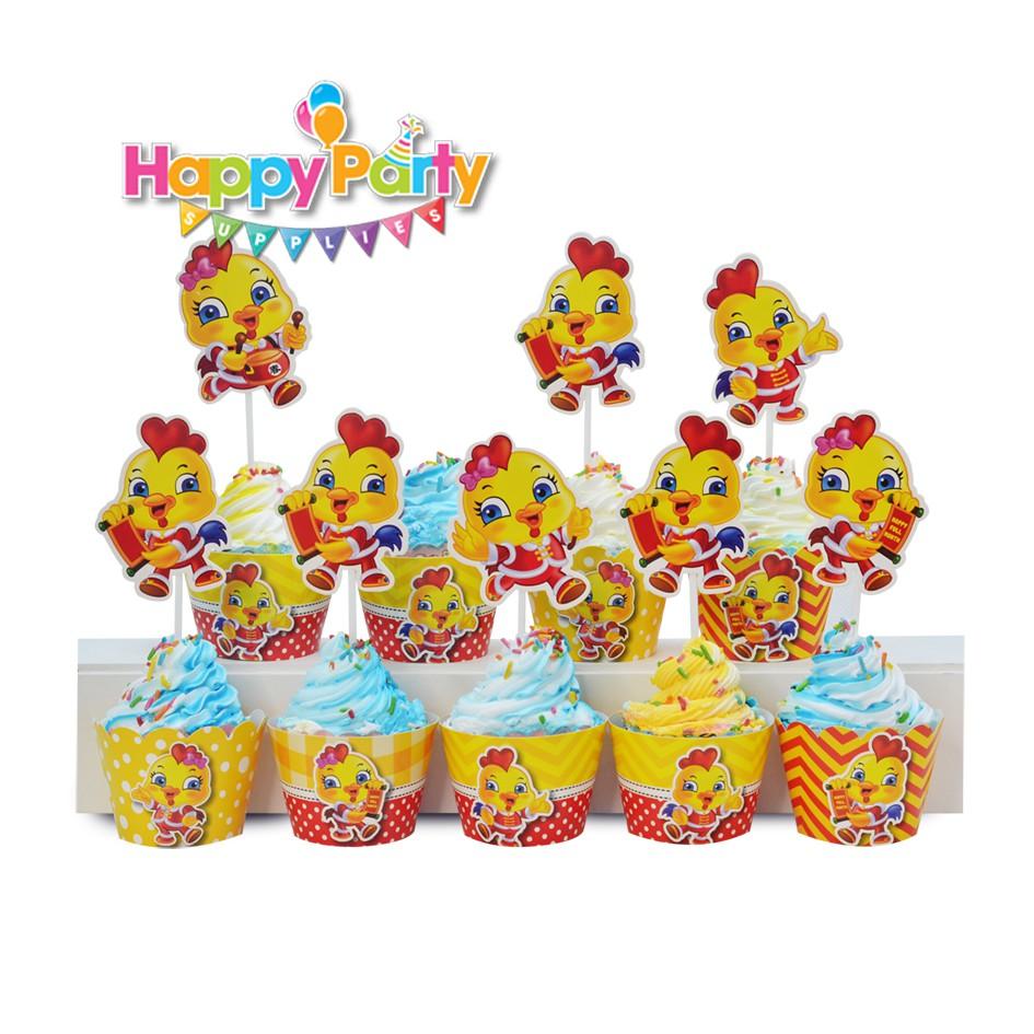 tem-cam-banh-cupcake-chu-de- ga-vang shopphukiensinhnhat.com