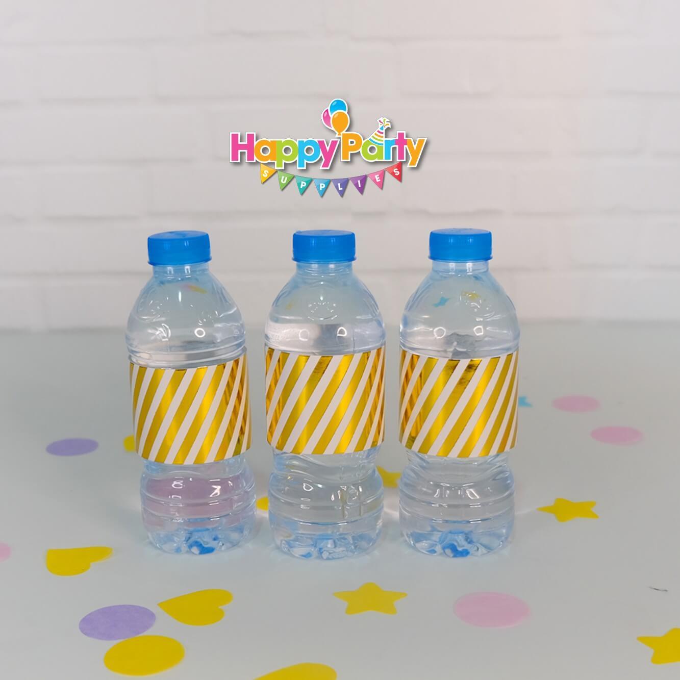 Set Gold ép kim giấy bọc chai nước shopphukiensinhnhat.com