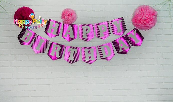 Set hồng ép kim giây treo happyparty shopphukiensinhnhat.com