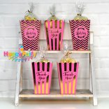 set-hong-gold-ep-kim hộp đựng bắp rang bơ shopphukiensinhnhat.com