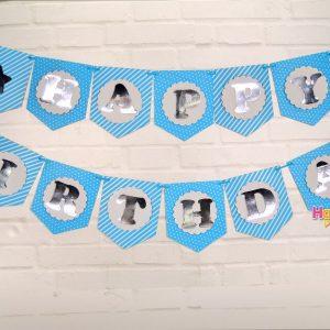 xanh duong silver ep kim day treo happy birthday shopphukiensinhnhat.com