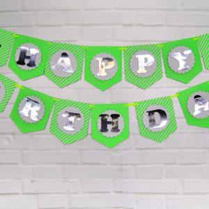 Xanh là Silver Ép Kim Dây treo sinh nhật shopphukiensinhnhat.com