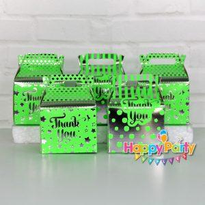 Xanh là Silver Ép kim hộp quà sinh nhật shopphukiensinhnhat.com
