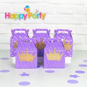 tím gold kim tuyến hộp quà sinh nhật shopphukiensinhnhat.com