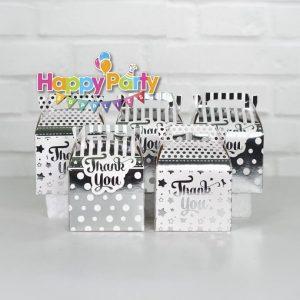 Set silver ép kim hộp quà sinh nhật shopphukiensinhnhat.com