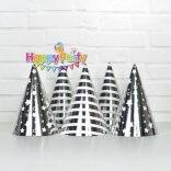 Set silver ép kim nón giấy sinh nhật shopphukiensinhnhat.com