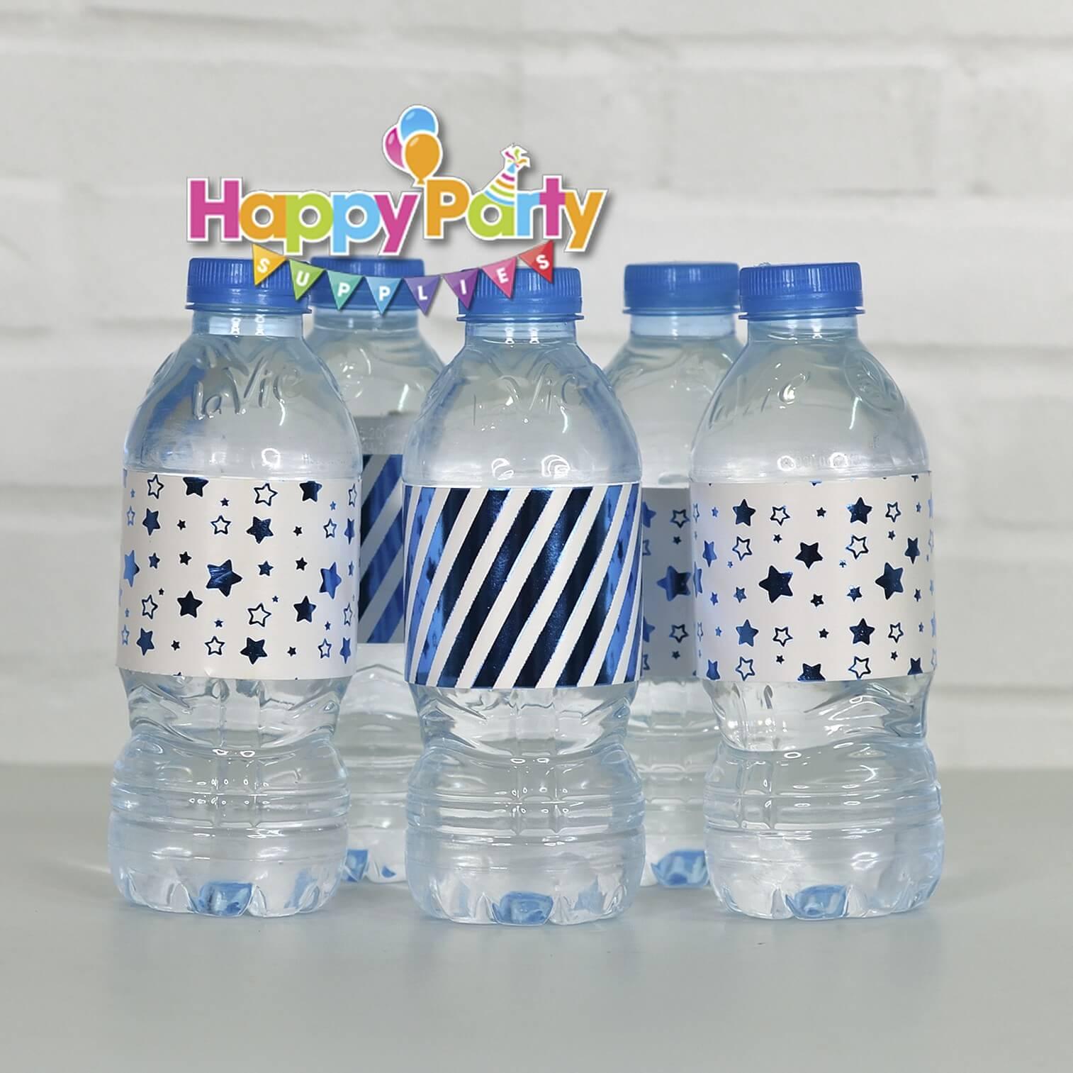 Set xanh dương ép kimgiấy bọc chai nước shopphukiensinhnhat.com