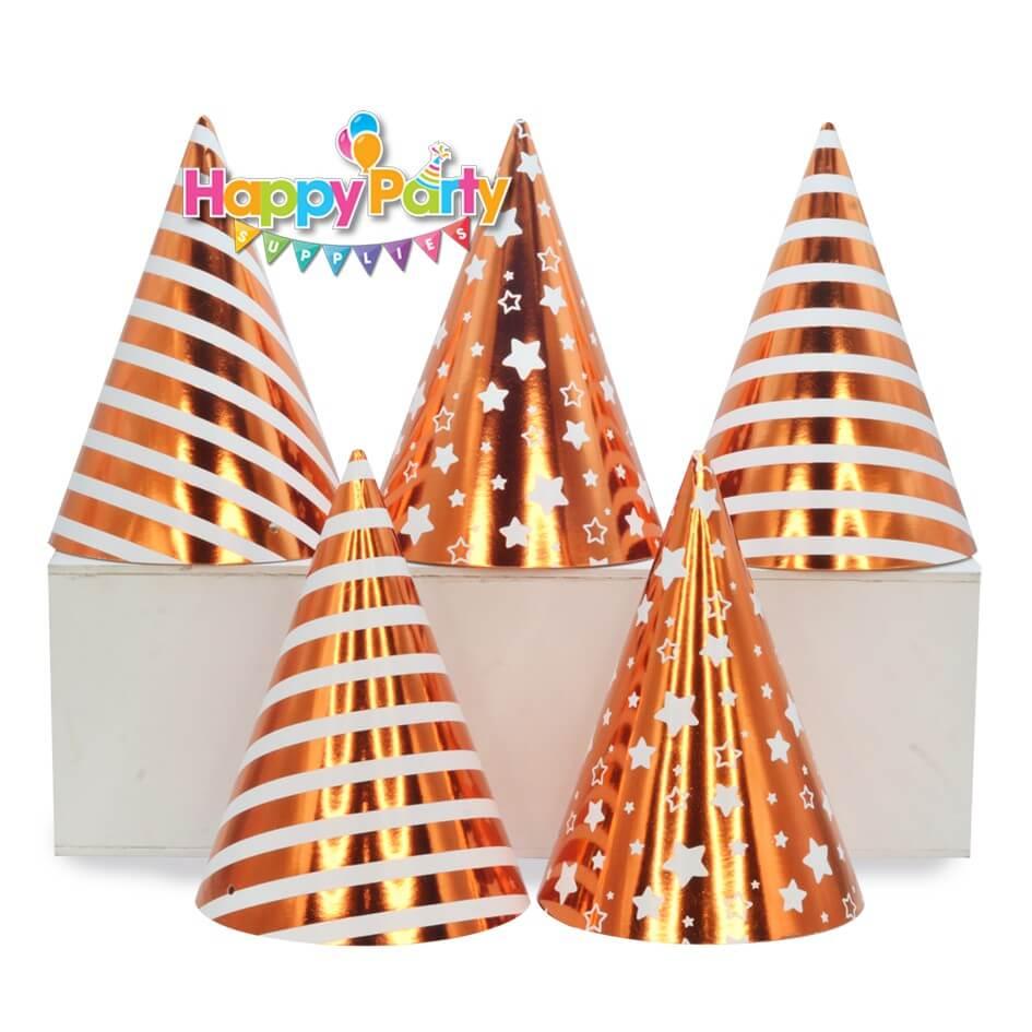 Set cam ep kim tem nón giấy sinh nhật shopphukiensinhnhat.com