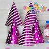 nón giấy sinh nhật hồng ép kim shopphukiensinhnhat.com