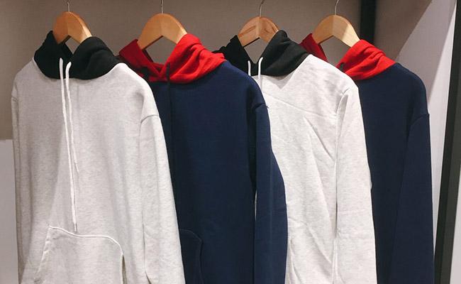 cửa hàng bán áo hoodie