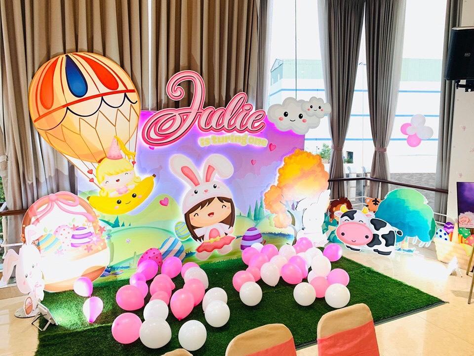 dịch vụ trang trí sinh nhật Biên Hòa