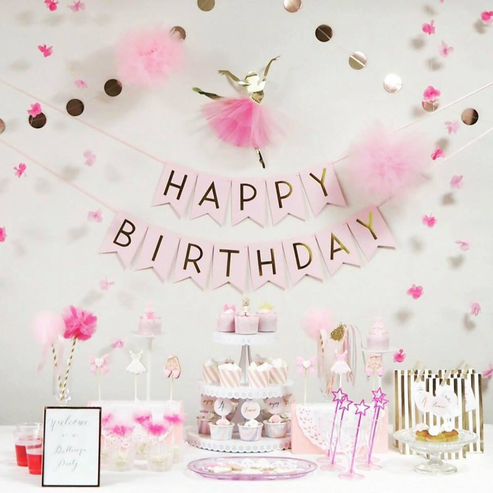dịch vụ trang trí sinh nhật Quận Bình Chánh
