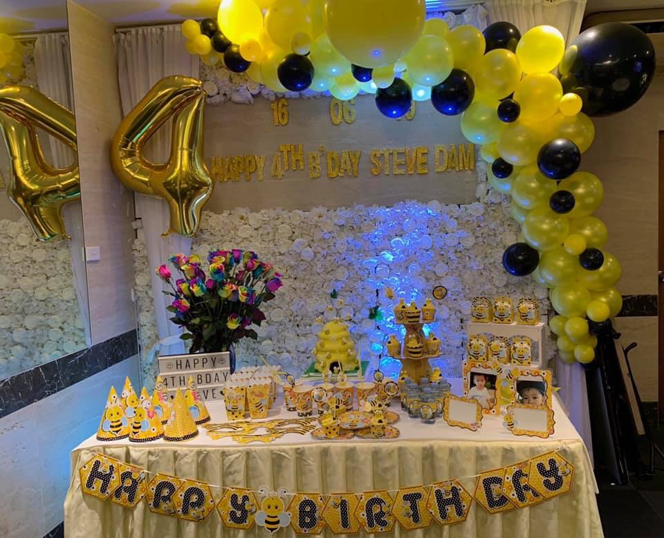 dịch vụ trang trí sinh nhật Quận Bình Thạnh