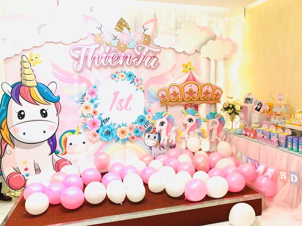 dịch vụ trang trí sinh nhật Quận Gò Vấp